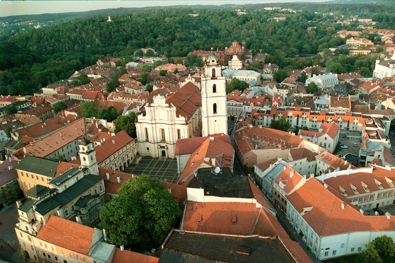 1579 m. popiežius Grigalius XIII bule patvirtino Vilniaus universiteto įkūrimą.<br>P.Lileikio nuotr.