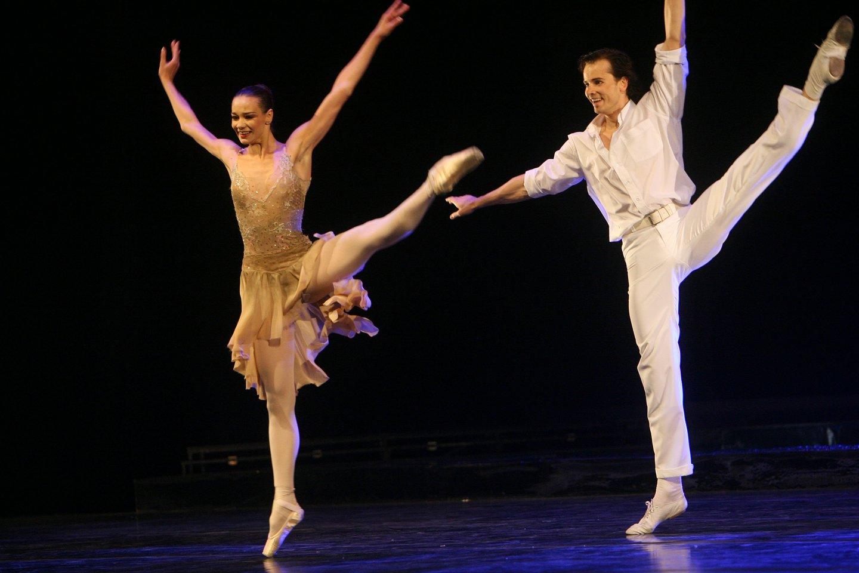 1976 m. gimė baleto artistas Nerijus Juška.<br>P.Lileikio nuotr.