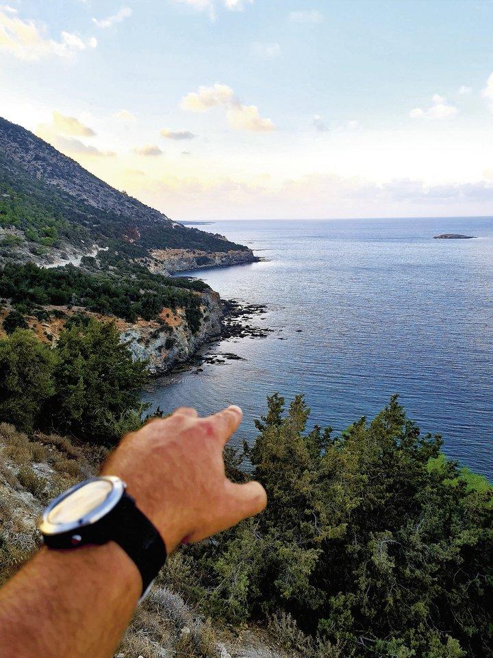 A.Paltaroko laikas Kipre.<br>Asmeninio albumo nuotr.