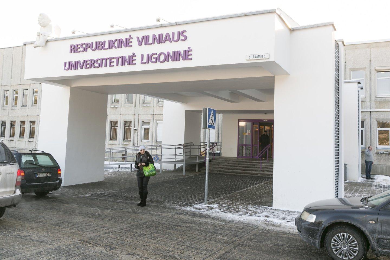 Respublikinė Vilniaus universitetinė ligoninė.<br>T.Bauro nuotr.