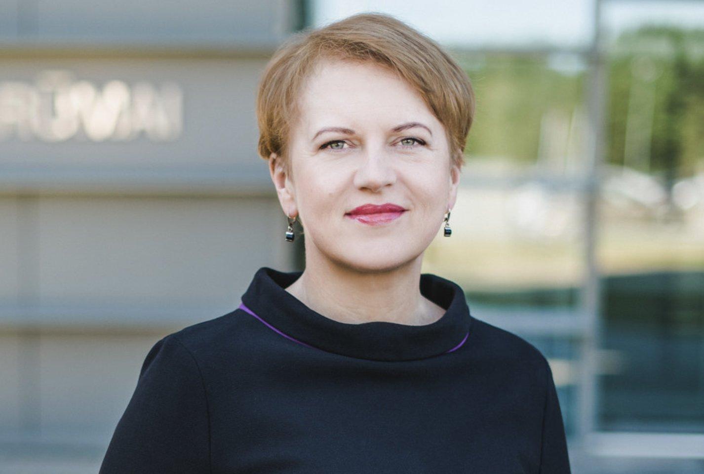Vilniaus Gedimino technikos universiteto (VILNIUS TECH) Kūrybinių industrijų fakulteto dekanė doc. dr. Živilė Sederevičiūtė-Pačiauskienė.<br>Vilnius TECH nuotr.