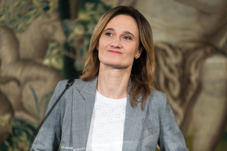 Liberalų sąjūdis Viktorija Čmilytė-Nielsen<br>T.Bauro nuotr.