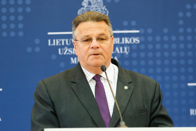 Linas Linkevičius.<br>T.Bauro nuotr.