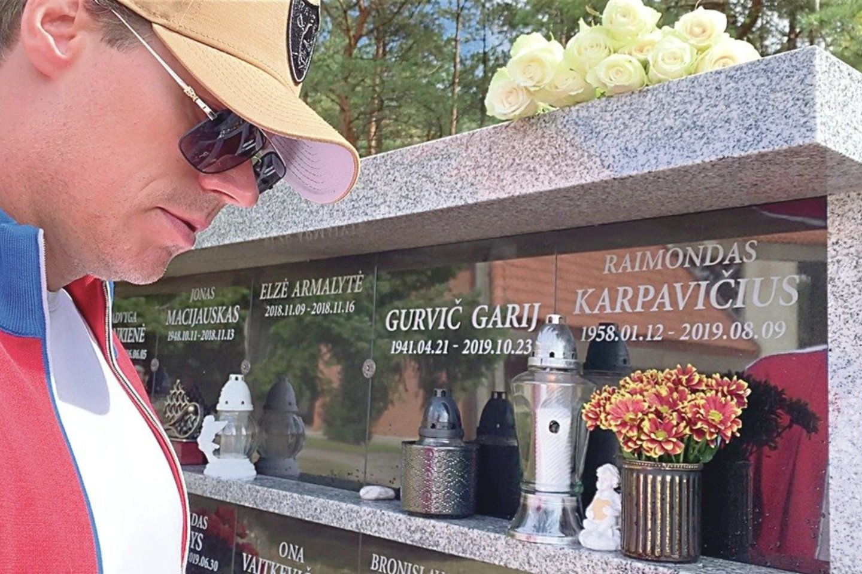 Vienintelis milijonieriaus sūnus R.Karpis