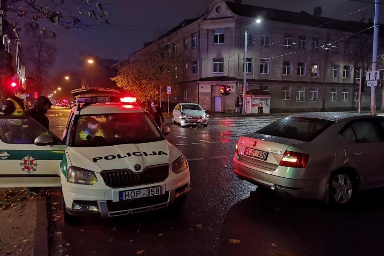 Penktadienį per eismo įvykį Vilniuje nukentėjo nėščioji.<br>A.Vaitkevičiaus nuotr.
