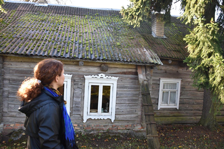 Ši gryčia Griūčių kaime pastatyta 1875-aisiais.<br>A.Srėbalienės nuotr.