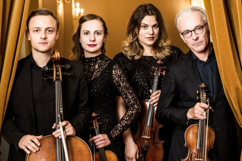 Valstybinis Vilniaus kvartetas.<br>Nacionalinės filharmonijos nuotr.