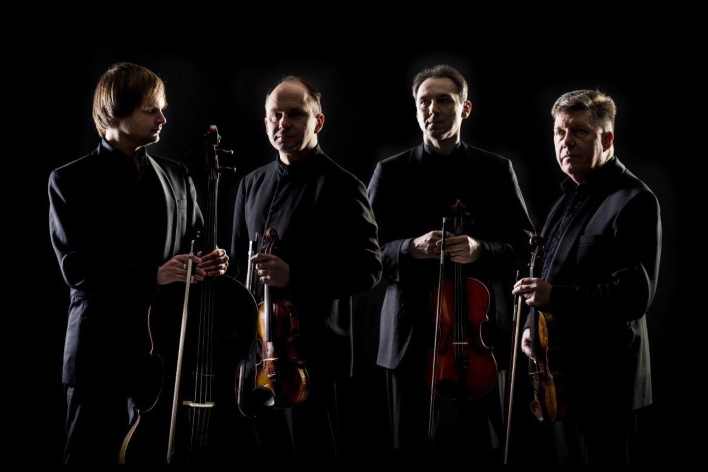 Čiurlionio kvartetas.<br>D.Matvejevo nuotr.