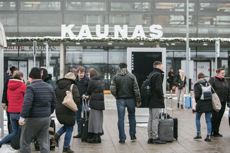 Kauno oro uoste greitai išvis neliks keleivių šurmulio.<br>G.Bitvinsko nuotr.