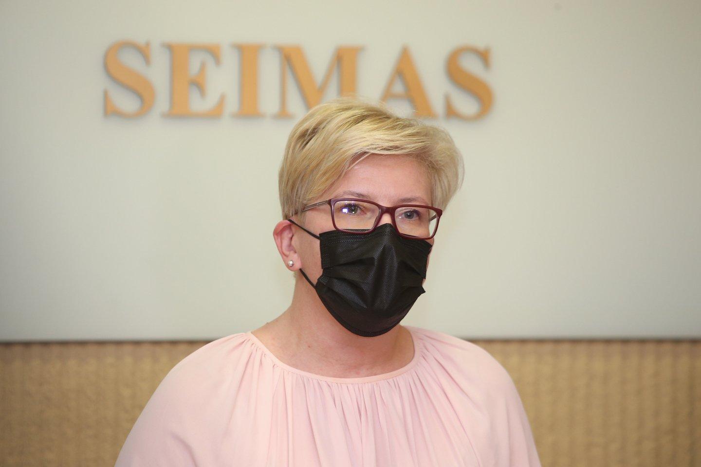 Valdančiąją daugumą Seime suformavo Tėvynės sąjunga-Lietuvos krikščionys demokratai (TS-LKD), Liberalų sąjūdis ir Laisvės partija.<br>R.Danisevičiaus nuotr.