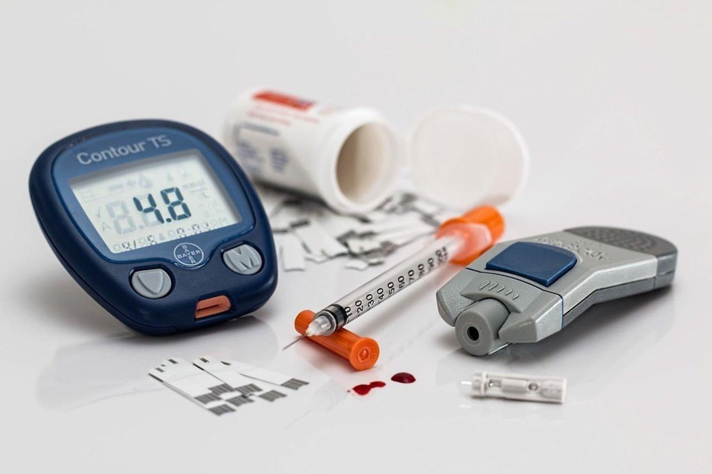 Cukrinis diabetas – sunki lėtinė, gyvybei pavojinga liga.<br>Pixabay nuotr.