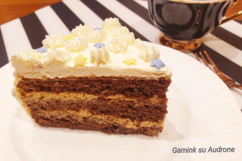 "Karamelinis tortas.<br>""Gamink su Audrone"" nuotr."