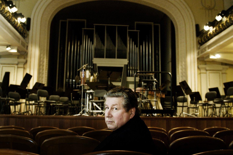 A.Šenderovas – vienas ryškiausių šiuolaikinių lietuvių ir litvakų kompozitorių.<br>D.Matvejevo nuotr.