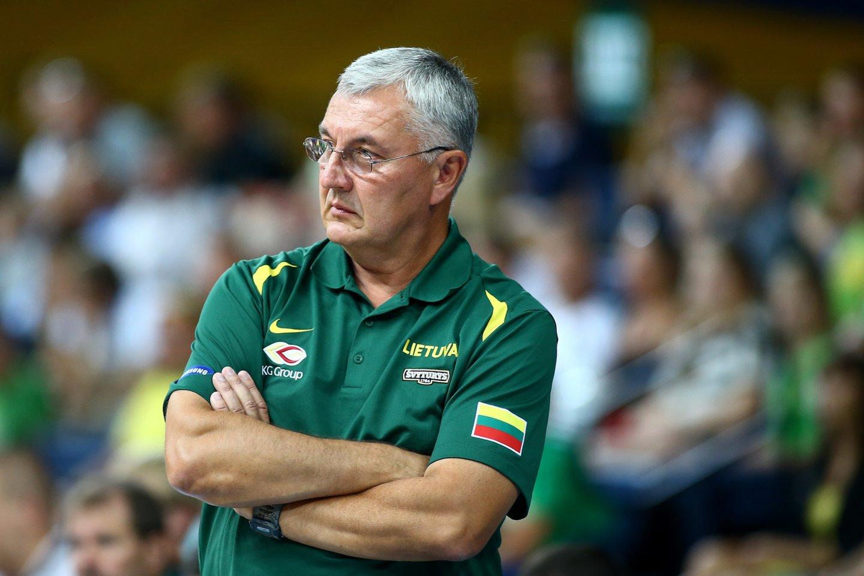 """Save su Šaru ir R. Kurtinaičiu palyginęs J. Kazlauskas: """"Man buvo žymiai sunkiau""""<br>G.Šiupario nuotr."""