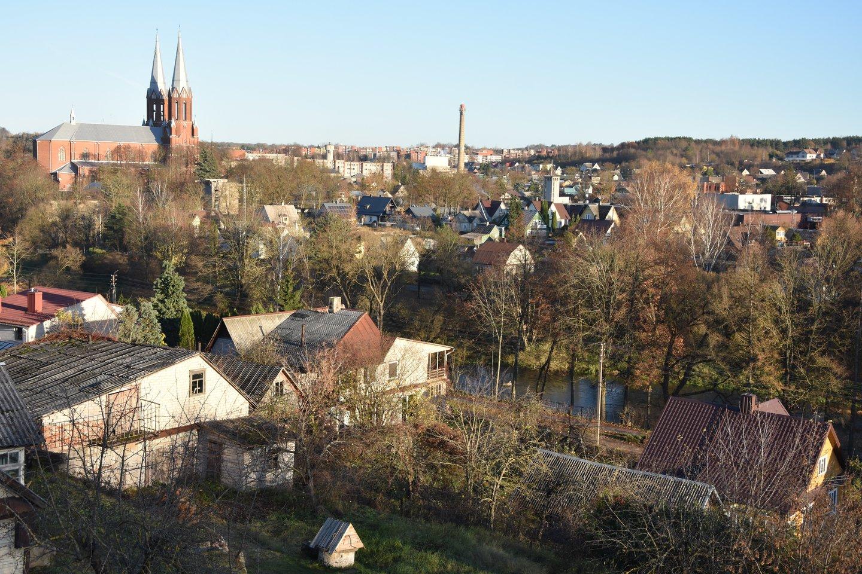 Anykščių panorama.<br>A.Srėbalienės nuotr.