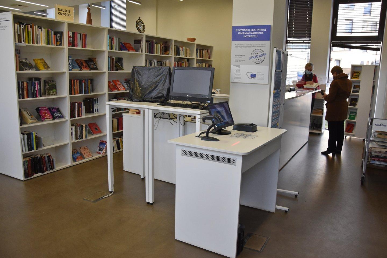 Anykščių biblioteka.<br>A.Srėbalienės nuotr.
