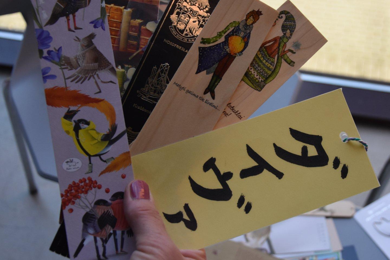 Japoniškais hieroglifais užrašytas Daivos vardas.