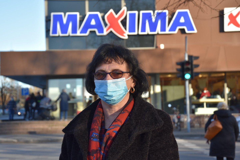 """Anykščių """"Maximoje"""" Daiva dirba nuo 2004-ųjų.<br>A.Srėbalienės nuotr."""