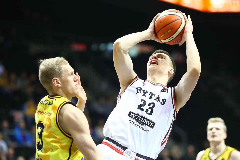 Marekas Blaževičius buvo vienas ryškiausių sostinės krepšinio talentų.<br>G.Šiupario nuotr.