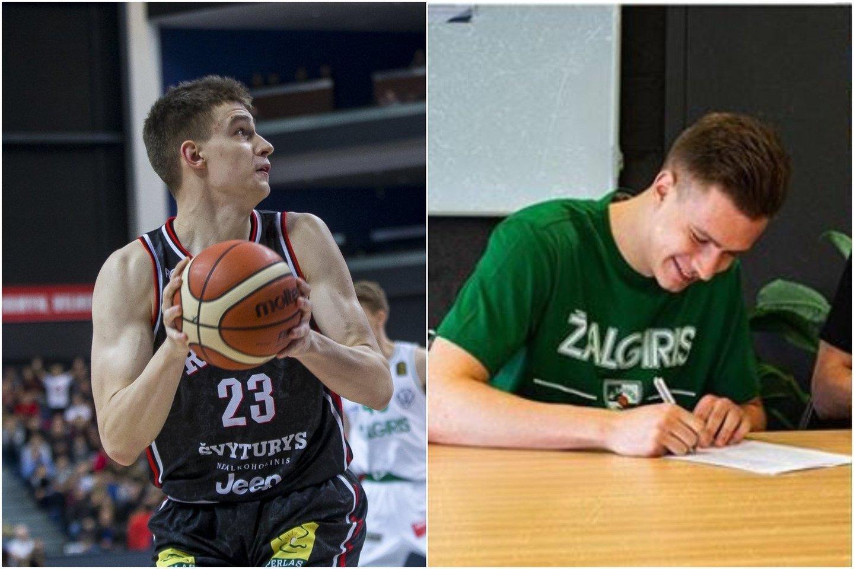 Marekas Blaževičius pasirašė trejų metų sutartį,<br>lrytas.lt koliažas.