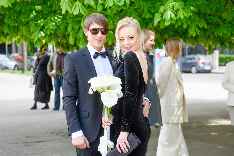 Mia Pilibaitytė ir Nerijus Antanavičius.<br>LR archyvo nuotr.