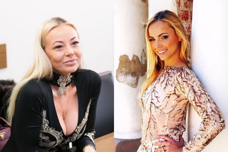 Mia Pilibaitytė ir Goda Alijeva.<br>LR archyvo nuotr.