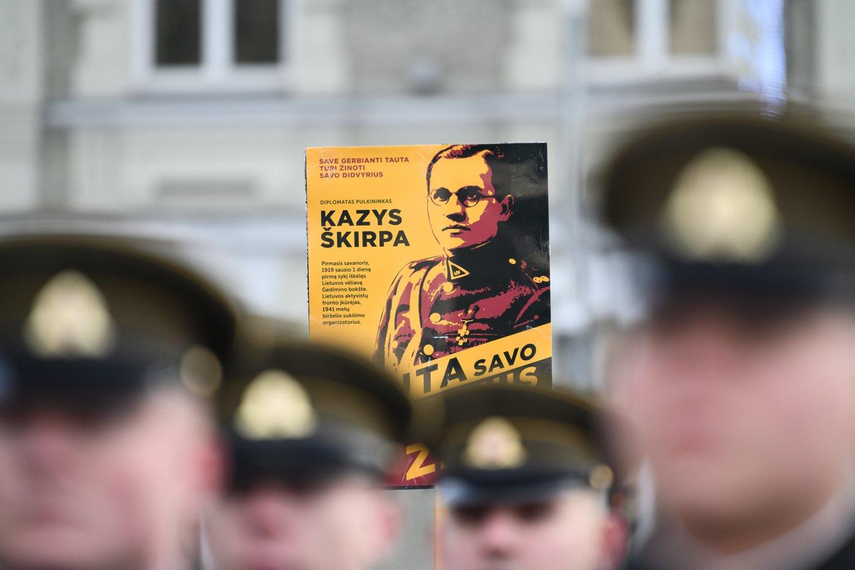 1940 m. buvę lietuvių politikai – iš viso 28 asmenys – Vokietijoje, pirmininkaujant Ernestui Galvanauskui, įkūrė slaptą Lietuvių aktyvistų frontą (LAF) – pasipriešinimo sovietų okupaciniam režimui organizaciją. Jos vadovu tapo buvęs Lietuvos pasiuntinys Vokietijoje Kazys Škirpa.<br>V.Skaraičio nuotr.