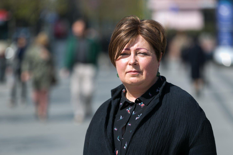 Kovos su prekyba žmonėmis ir išnaudojimu centro vadovė Kristina Mišinienė<br>T.Bauro nuotr.
