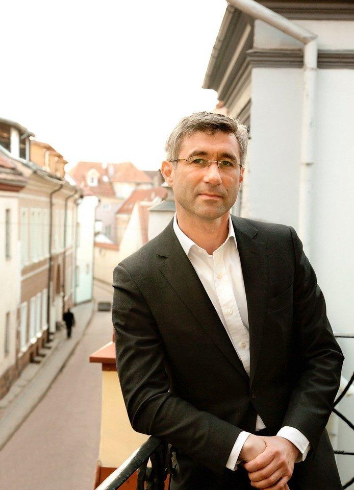 """""""Optono"""" valdybos pirmininkas ir Verslo angelų fondo II vadovaujantysis partneris Arvydas Strumskis"""