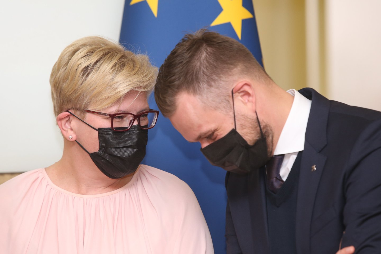 Valdantieji keičia valstiečius papiktinusį siūlymą Seimo Audito komiteto pirmininko poziciją atiduoti ne opozicijai, o Seimo Mišriai parlamentarų grupei.<br>R.Danisevičiaus nuotr.