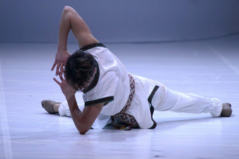 """Virtuali premjera – baletas """"Vaivos juosta"""".<br>M.Aleksos nuotr."""
