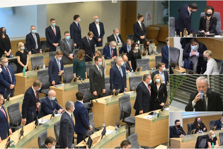 Valdantieji keičia valstiečius papiktinusį siūlymą Seimo Audito komiteto pirmininko poziciją atiduoti ne opozicijai, o Seimo Mišriai parlamentarų grupei.<br>Lrytas.lt koliažas