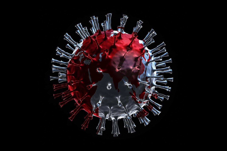 Tikrasis COVID-19 infekcijų skaičius tikriausiai yra daug didesnis nei daugelyje pirmojo pasaulio šalių, skelbia naujas tyrimas.<br>123rf iliustr.