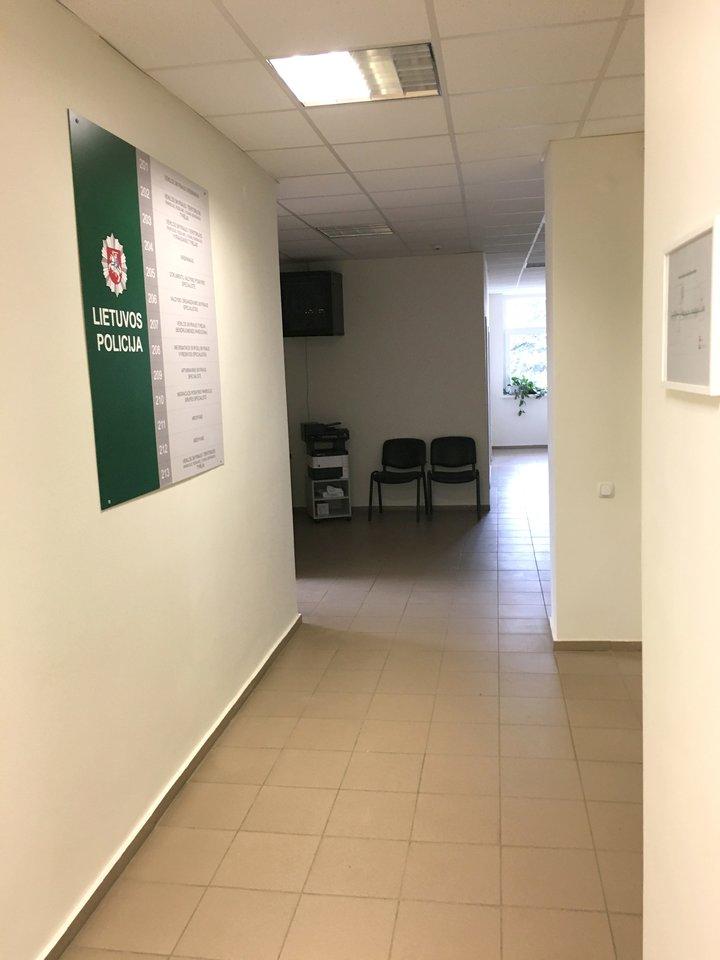 Pakruojo rajono policijos komisariatas po renovacijos.<br>Šiaulių AVPK nuotr.