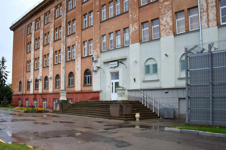 Taip Šiaulių miesto ir rajono policijos komisariatas atrodė prieš renovaciją.<br>Šiaulių AVPK nuotr.