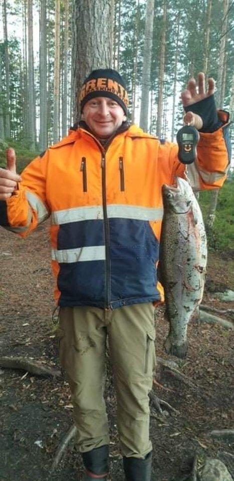 Yra ir žvejybos entuziastų bei keliaujančių, susipažįstančių su Švedija.<br>Asmeninio albumo nuotr.