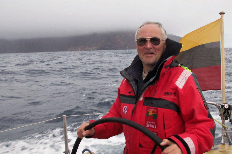 """""""Dailės"""" kapitonas Romanas Borisovas.<br>""""Dailės"""" archyvo nuotr."""