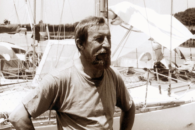 """Jachtos """"Dailė"""" kapitonas Žvaigždras Drėma.<br>A.Gylio nuotr."""