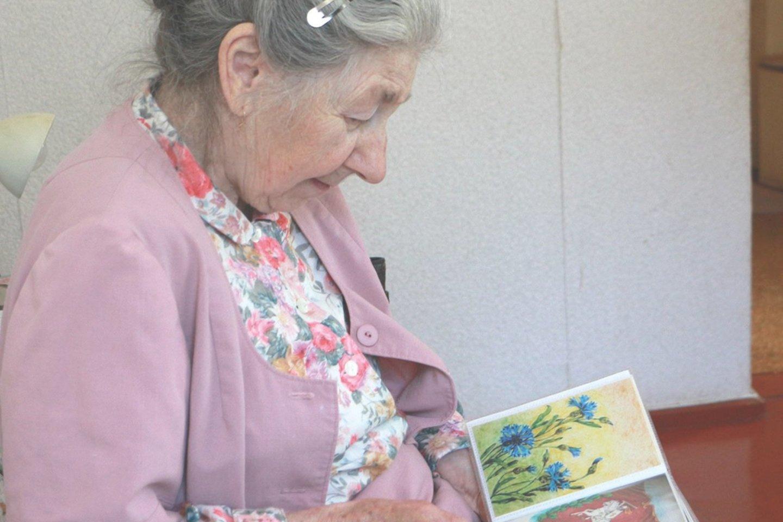 R.M.Lazarevičiūtė savo pomėgį atrado skaičiuodama ketvirtą dešimtį.<br>D.Borodinaitės nuotr.