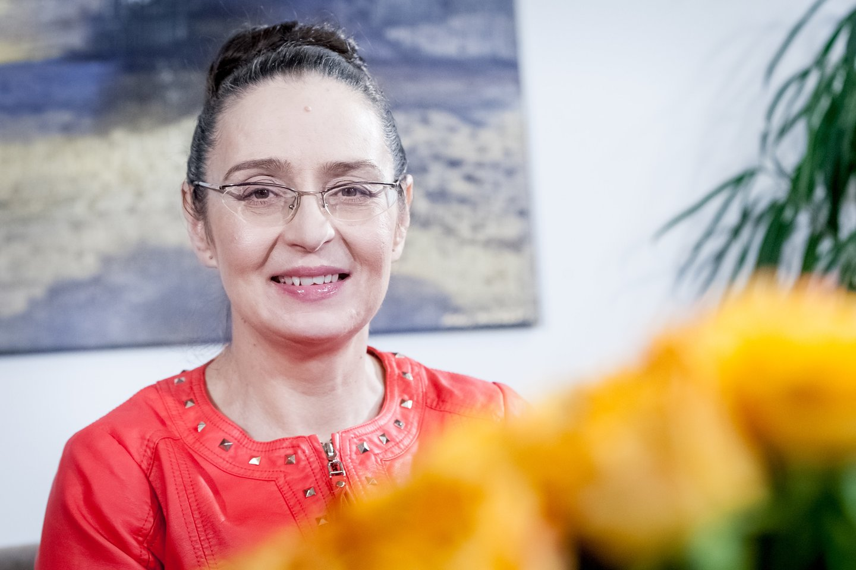 Astrologė Palmira Kelertienė.<br>D.Umbraso nuotr.
