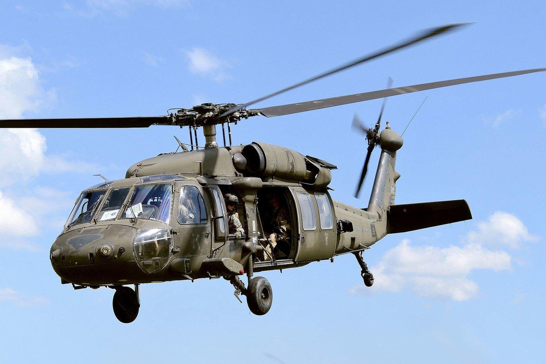 """Sakoma, kad universalūs dalykai netinka niekam, tačiau """"Black Hawk"""" – išimtis.<br>Wikimedia commons"""