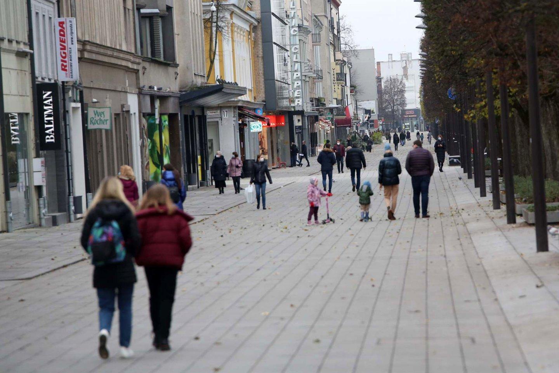 Karantinas Lietuvoje.<br>M.Patašiaus nuotr.