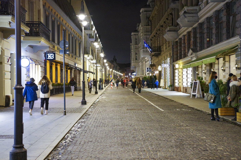 Karantinas Lietuvoje.<br>V.Ščiavinsko nuotr.