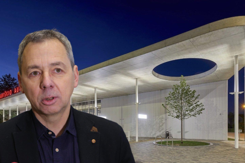 G.Balčytis įsitikinęs, kad projekto sėkmė priklauso nuo architekto intelektualinio indėlio.