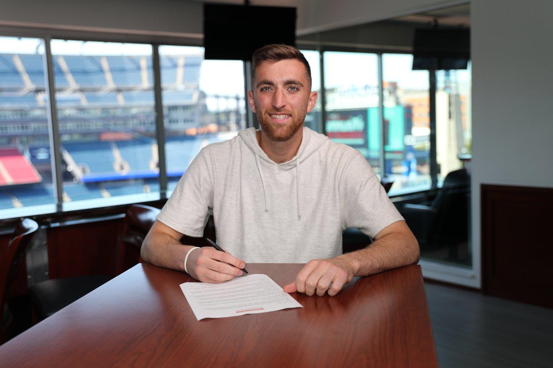 M.Turneris pasirašo sutartį su MLS klubu.<br>Iš asmeninio archyvo nuotr.