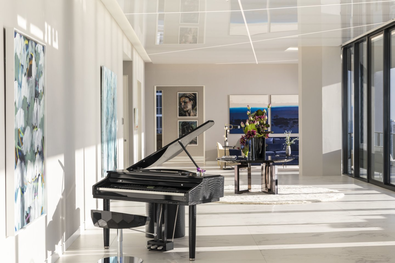 """Būsto interjero autoriai – R.Junusovo kompanija """"Velum Design"""" kartu su dizainerių biuru """"Hernan Arriaga"""".<br>R.Janusovo nuotr."""