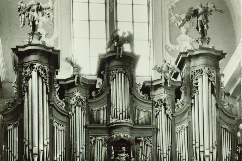 Vilniaus Šventosios Dvasios bažnyčios vargonai – didžiausi barokiniai vargonai Lietuvoje, vienintelis išlikęs beveik autentiškas A.G.Casparini instrumentas.