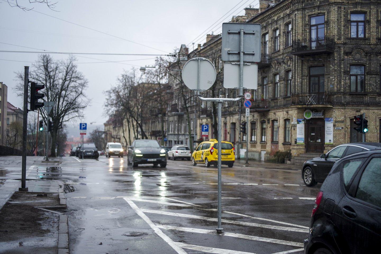 Gatvė bus nepravažiuojama nuo 9 val. 30 min. iki 14 val. 30 min.<br>V.Ščiavinsko asociatyvi nuotr.