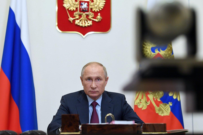 V.Putinas.<br>AP/Scanpix nuotr.