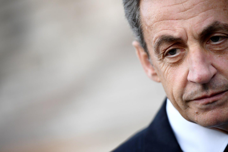 N. Sarkozy.<br>AFP/Scanpix nuotr.